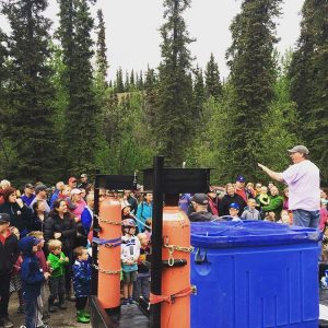 Wolf Creek Salmon Fry Release May 28, 2017